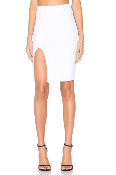 David Lerner Alexa Skirt in white