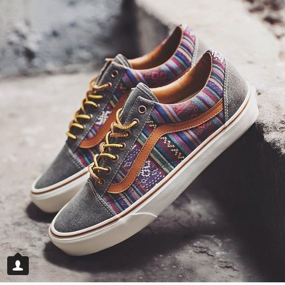 vans off the wall shoes multicolor sneakers striped shoes