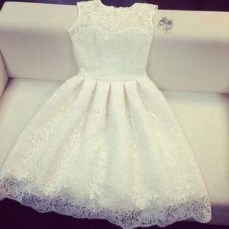 dress white dress wedding dress prom dress homecoming dress beautiful dress