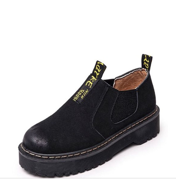 shoes DrMartens creepers boots black