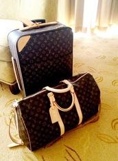 bag,louis vuitton,suitcase,glamour