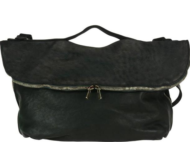 Guidi bag messenger bag black
