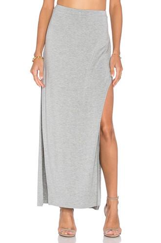 skirt maxi skirt maxi side split