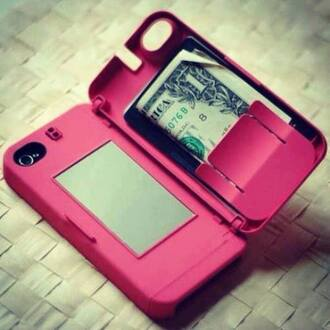 jewels iphone 4 case iphone cover phone cover coat bag underwear belt iphone case iphone 5 case iphone pink hard case flip cover wallet iphone5s mirror money