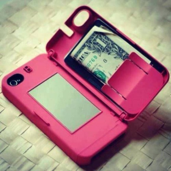 phone case mirror iphone case iphone 5 case hard case money iphone cases jewels iphone4 iphone case bag underwear Belt iphone case iphone 5 case iphone 4 case phone case pink flip cover