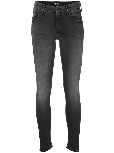 Mother jeans women spandex fit cotton grey 24