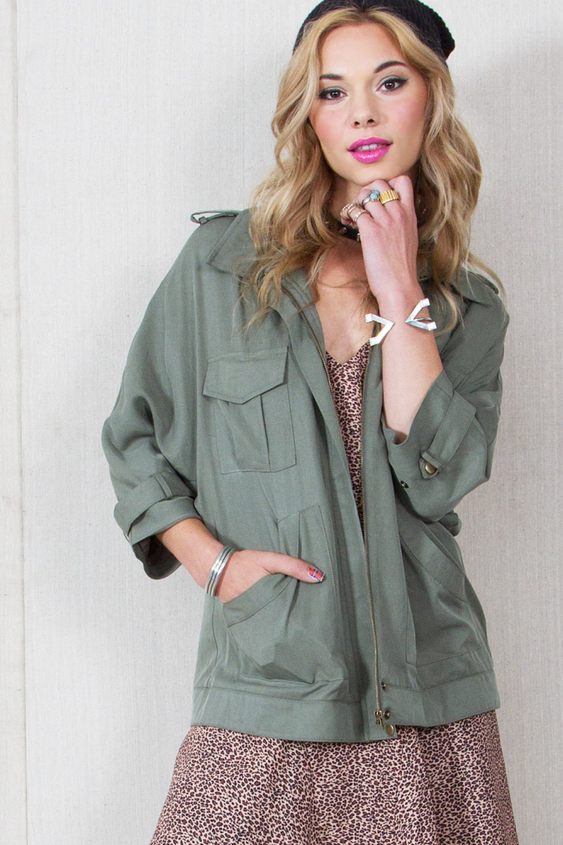 Safari land jacket · trendyish · online store powered by storenvy