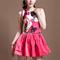 Red day dress - bqueen printed hem  summmer dress | ustrendy