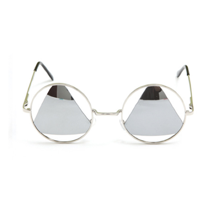 Triangle retro sunglasses / back order – holypink