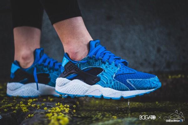 shoes huarache blue sneakers nike