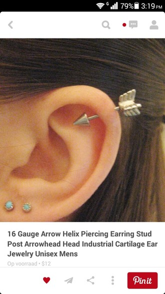 jewels piercing jewels earings arrow iggy azaela