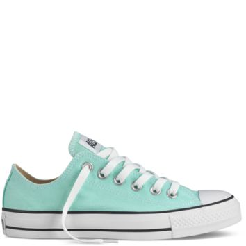 Converse - Chuck Taylor Fresh Colors - Low - Jungle Green on Wanelo