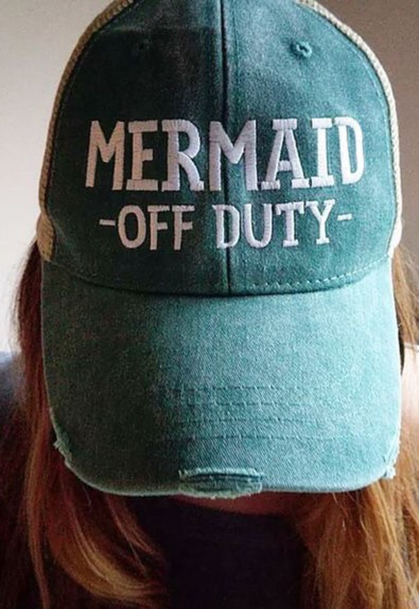 hat mermaid