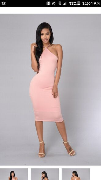 dress fashion vibe dressfo pink pink dress bodycon bodycon dress midi midi dress sexy sexy dress summer summer dress summer outfits cute cute dress girly girly dress date outfit birthday dress pool party cocktail dress cocktail