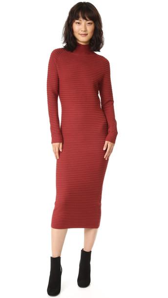 Won Hundred Bluma Sweater Dress - Russet Brown - Wheretoget