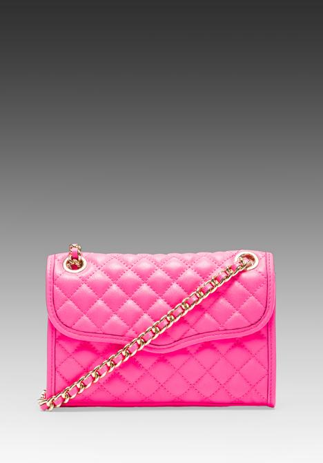 REBECCA MINKOFF Mini Affair in Neon Pink -