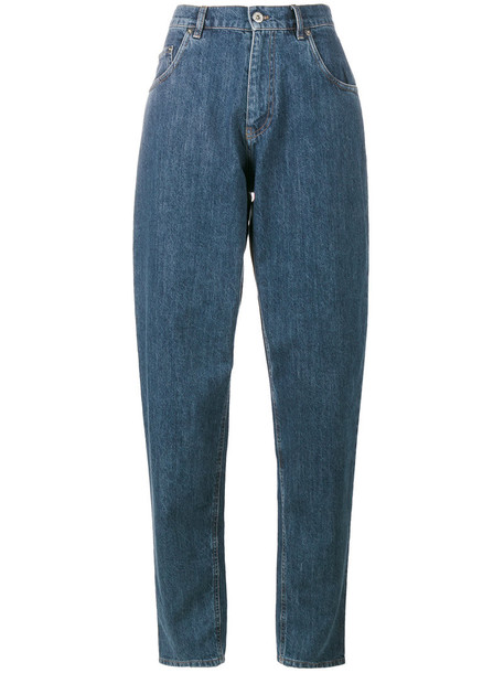 jeans mom jeans high waisted high women cotton blue