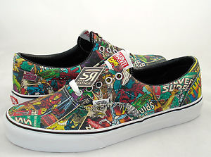 New Men's Vans Era Avengers Shoes Marvel Skate Iron Man Thor Spider Hulk Comics | eBay