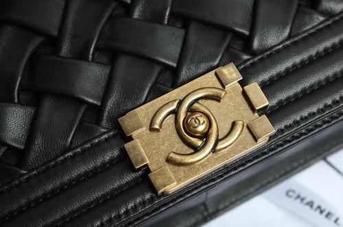 My Runway Style                  - Leather Chanel Boy Flap bag