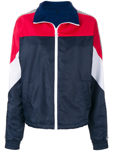 opening ceremony jacket windbreaker women warm blue