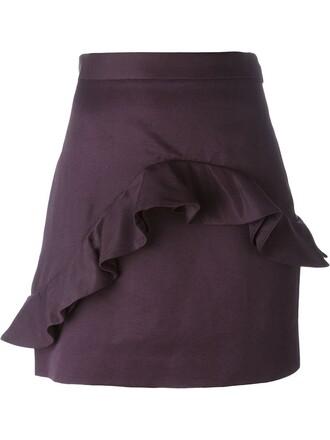 skirt mini skirt mini purple pink