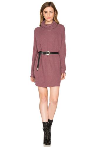 dress turtleneck dress