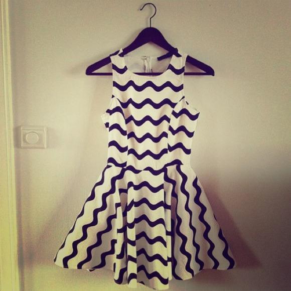 33% off New York  Dresses & Skirts - Black and white dress from Jojo's closet on Poshmark