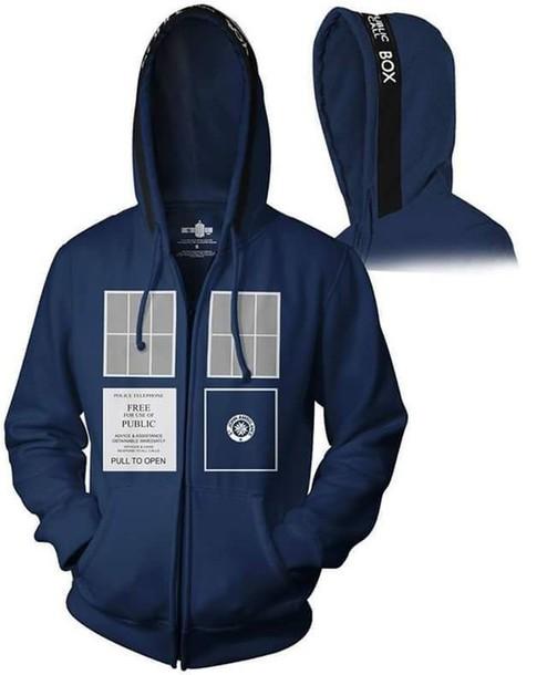 jacket doctor who tardis