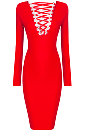dress,dream it wear it,clothes,red,red dress,midi,midi dress,long sleeves,long sleeve dress,lace up,lace up dress,bodycon,bodycon dress,party,party dress,sexy party dresses,sexy,sexy dress,party outfits,summer dress,summer outfits,spring dress,spring outfits,fall dress,fall outfits,winter dress,winter outfits,classy,classy dress,elegant,elegant dress,cocktail dress,cocktail,girly,date outfit,birthday dress,holiday dress,holiday season,romantic,romantic dress,cute,dope,cool,trendy,style,new year's eve,pool party