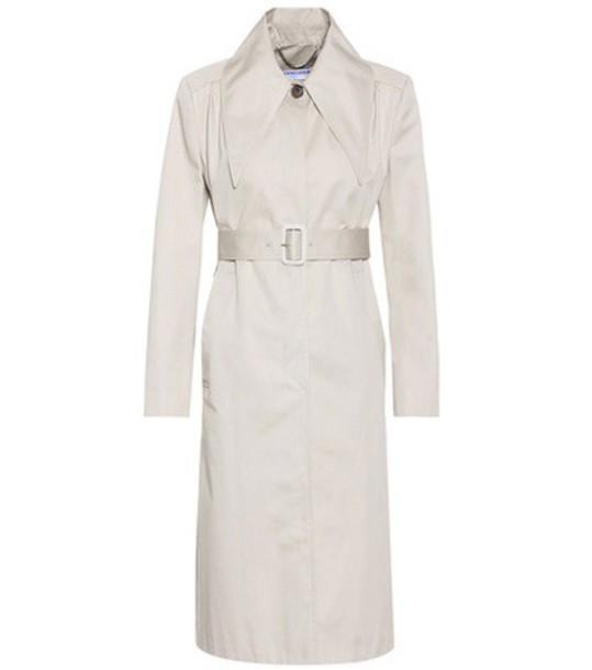 Balenciaga coat trench coat cotton beige