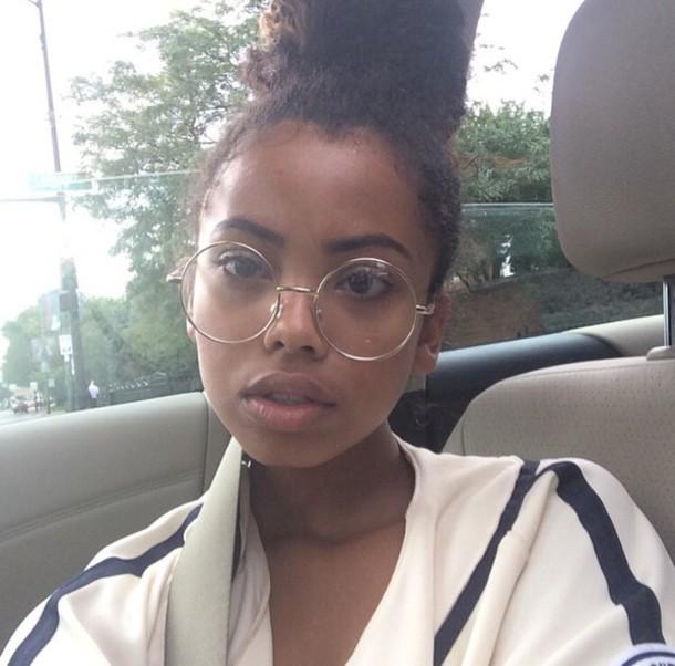 Sunglasses: round frame glasses, metal frame glasses ...