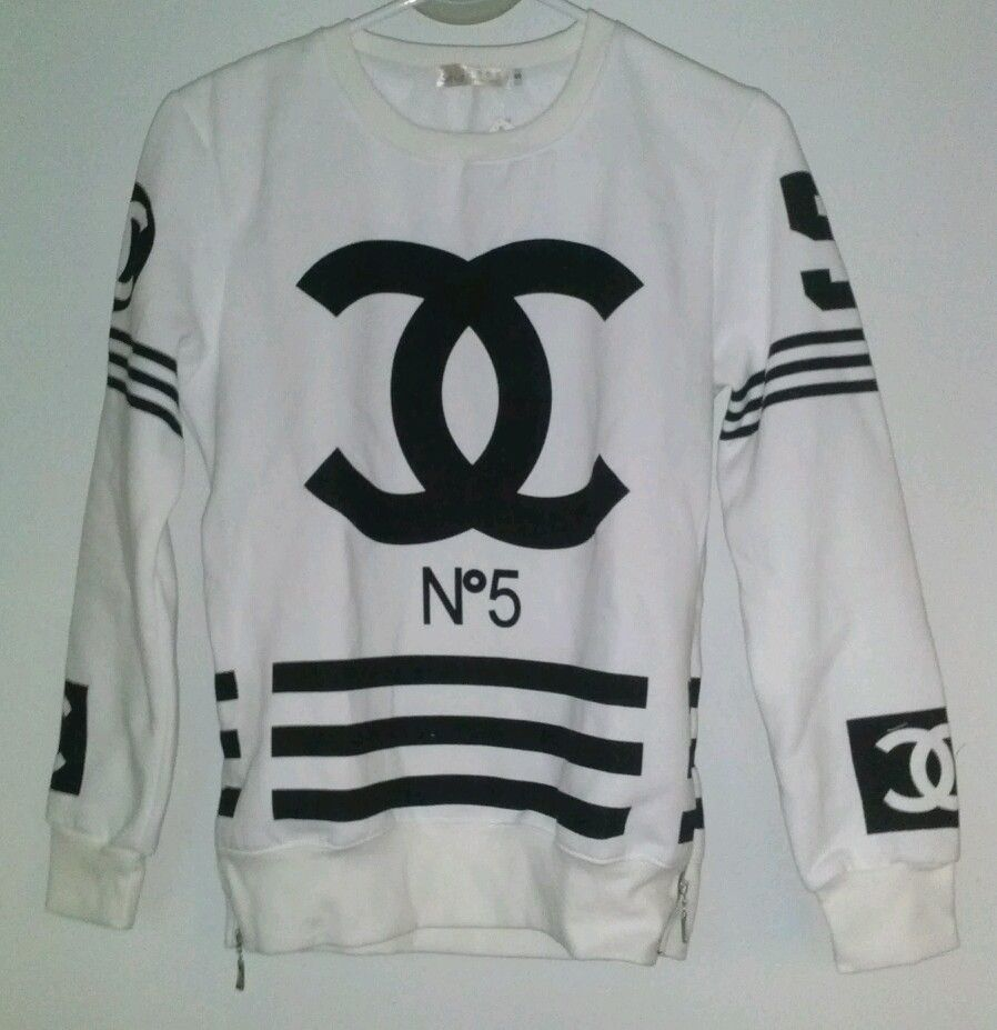 Salute To Coco Chanel Number 5 Sweatshirt T Shirt Bag Logo