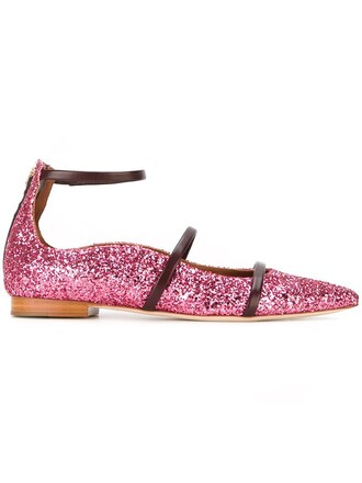 glitter purple pink shoes