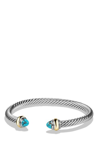 David Yurman 'Cable Classic' Bracelet with Gold   Nordstrom