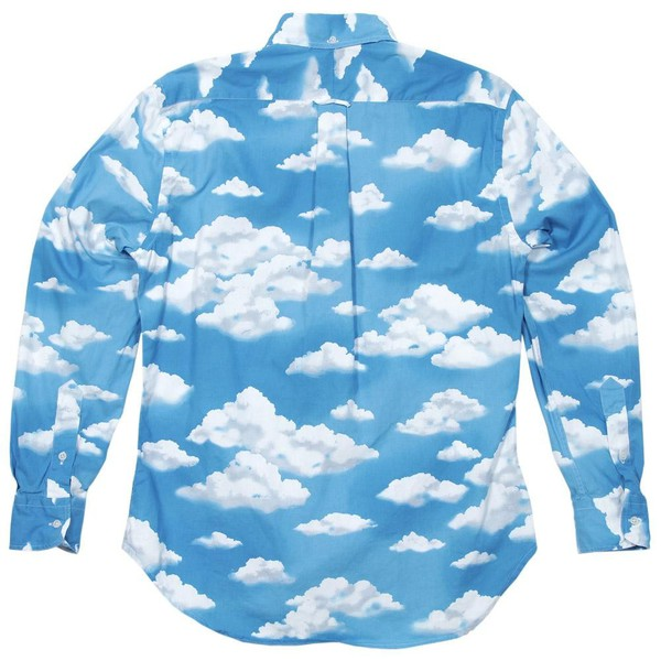 t-shirt clouds sky