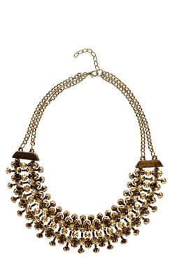 Ellen Minature Spikes Necklace at boohoo.com