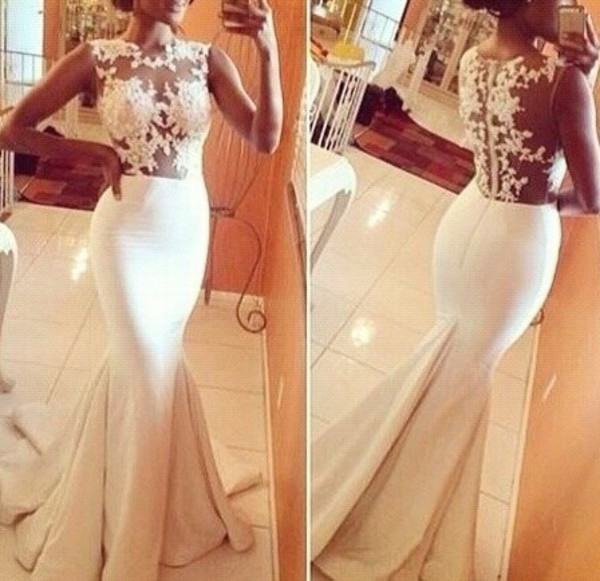 wedding dress lace dress white dress sexy dress crochet long dress maxi dress prom dress party dress classy dress