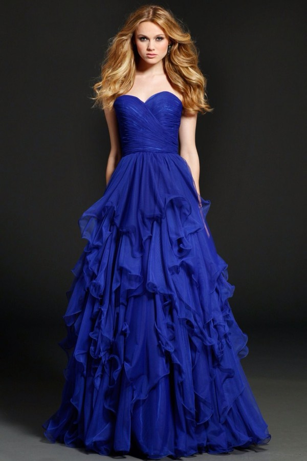 jovani, ruffle, ball gown dress, dress, prom dress, homecoming dress ...