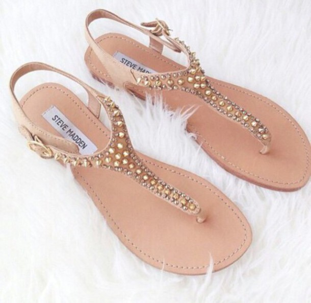 shoes sandals gold
