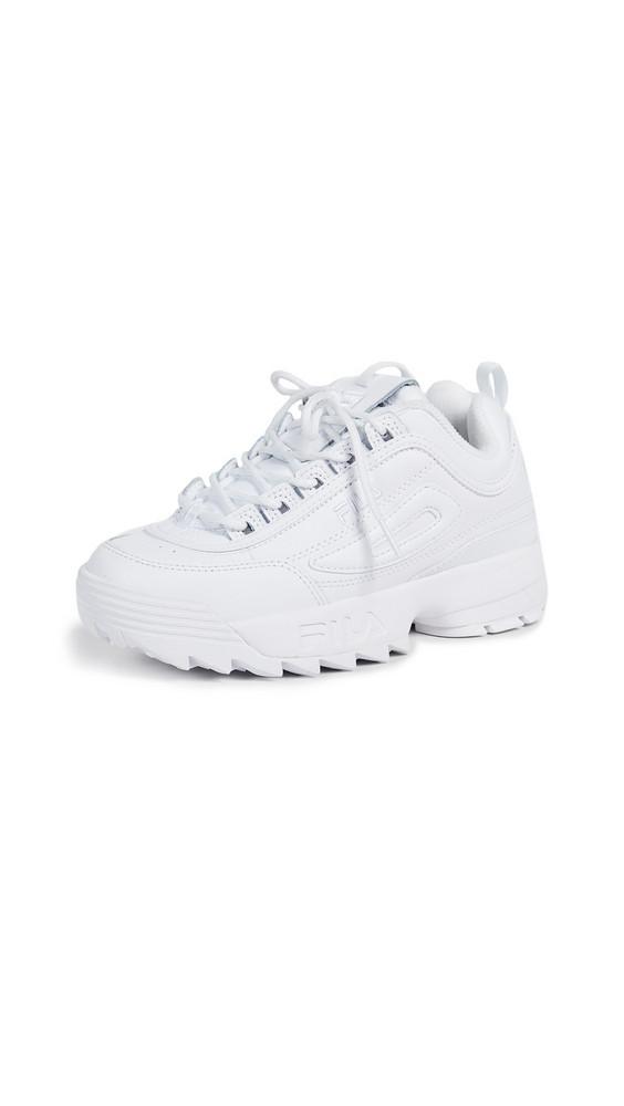 Fila Disruptor II Premium Sneakers in white
