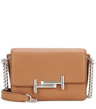 mini bag shoulder bag leather brown