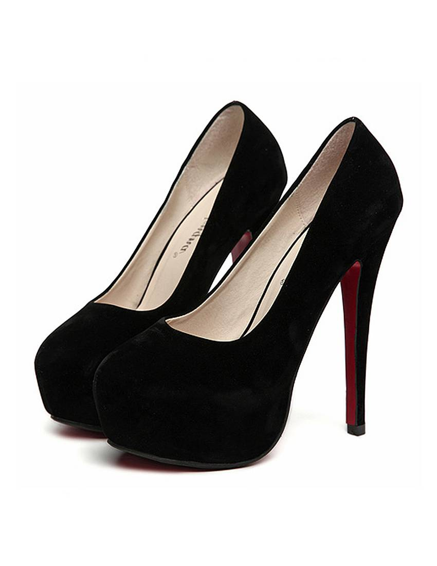 black pumps high heels black suede look high heels