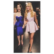 dress,pink dress,beth behers,2 broke girls