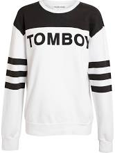 Filles A Papa 'Tomboy' Motif Cotton Sweatshirt