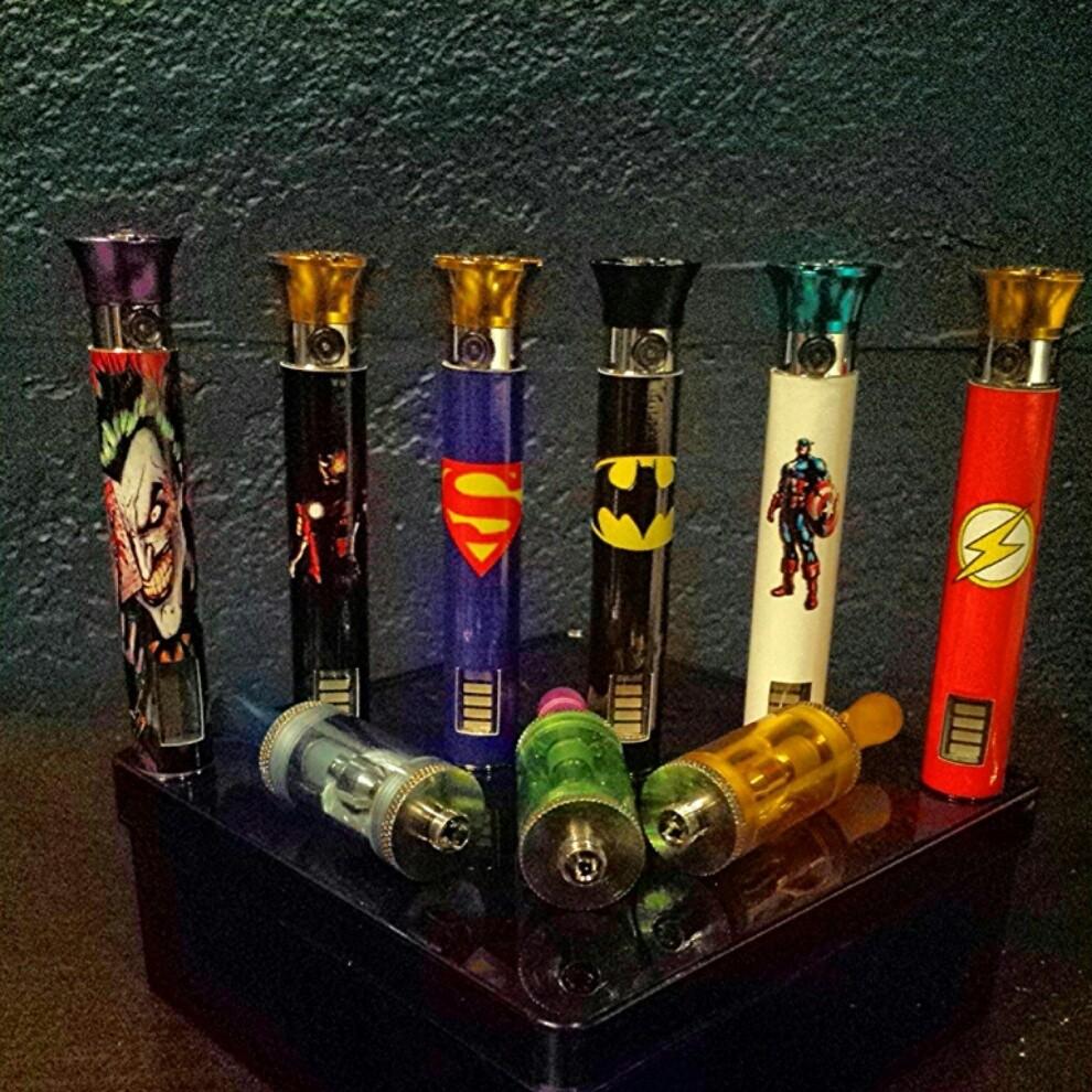 Custom superhero vaporizer w/1 free 30ml e