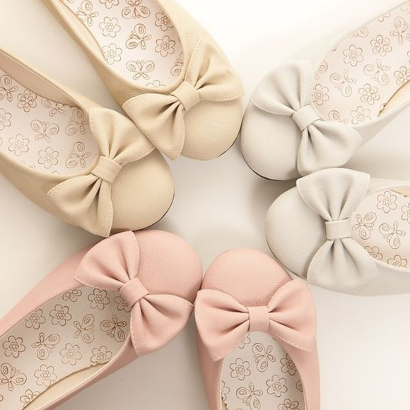 bows cute shoes bow shoes bow flats