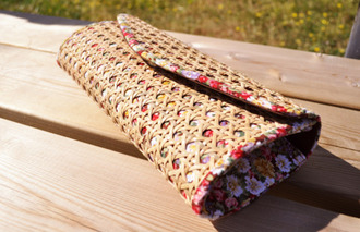 flower crochet boho clutch hand bag red bag white bag black bag orange bag pink bag purple bag brown bag bag