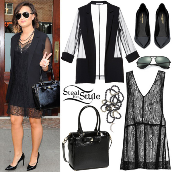 jacket demi lovato bag sunglass necklace shoes sunglasses jewels