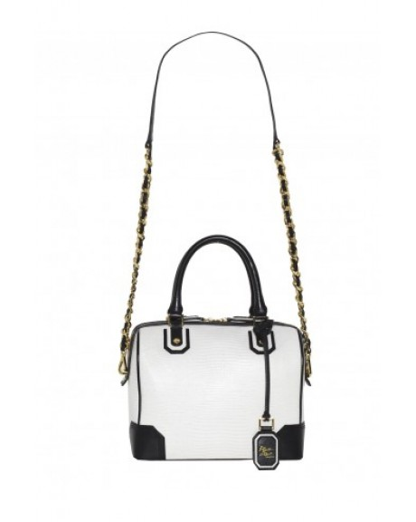 OLIVIA LIZARD EMBOSSED LEATHER BAG | Alice   Olivia |