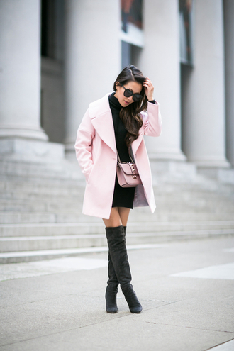 wendy's lookbook blogger coat dress shoes bag sunglasses